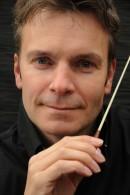Ghislain Bellefroid, dirigent harmonie orkest Wilhelmina