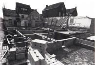 Harmoniezaal in aanbouw